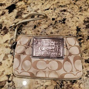 Coach Poppy Collection Wristlet